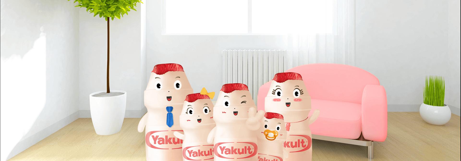 Sức khỏe cho cả gia đình cùng Yakult